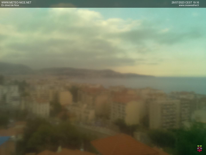 Веб камера Ницца Франция